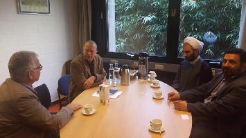 ديدار با رئيس دانشگاه تاريخى لون واساتيد آن در بروكسل بروكسل پایتخت بلژیک